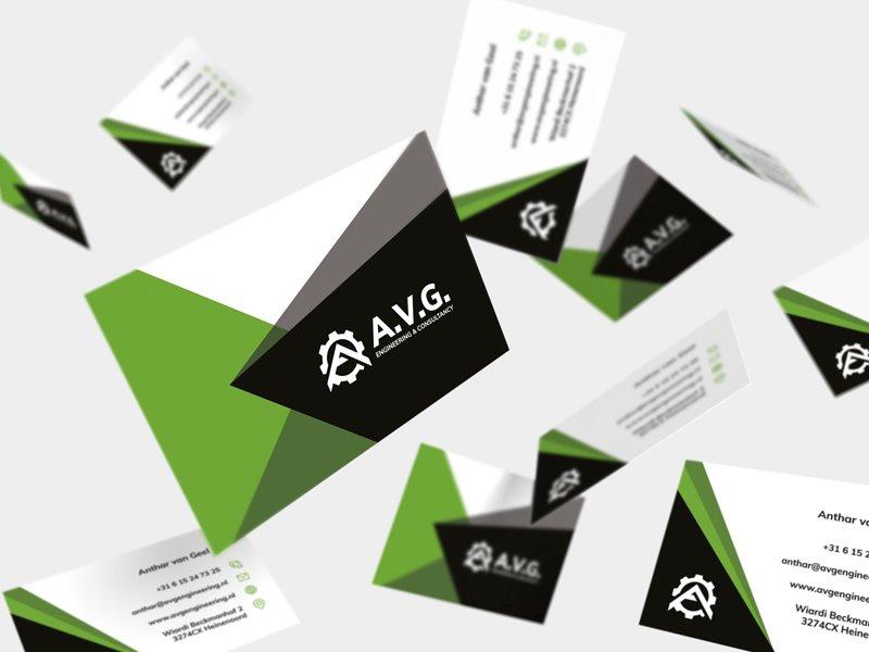 AVG Engineering visitekaartjes