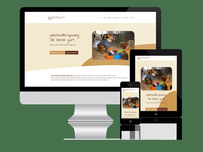 De Kleine Yurt website