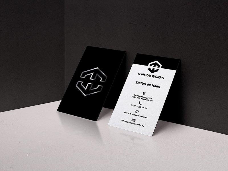 Metalworks visitekaartjes