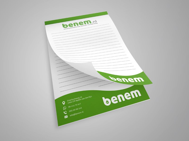 Notitieblok Benem